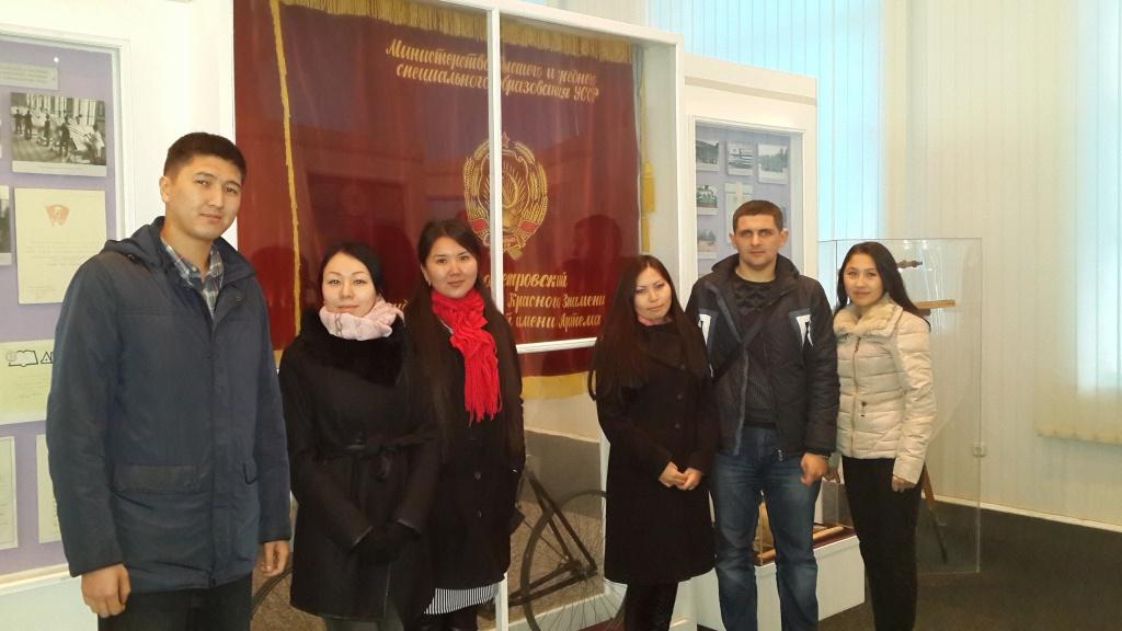 master students from KazNTU